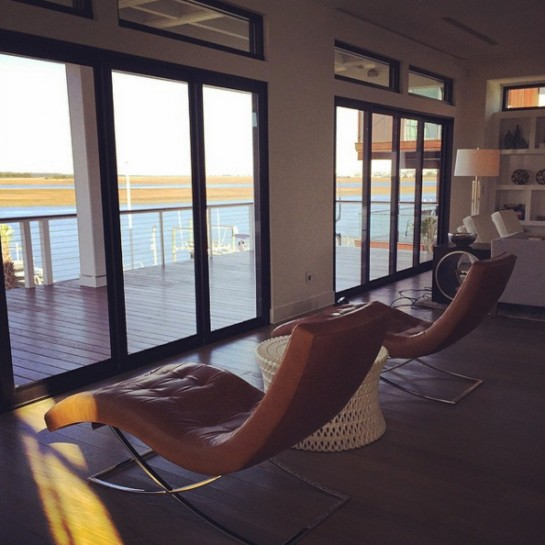 b.b. dames | coastal modern | lounge area with a stunning view